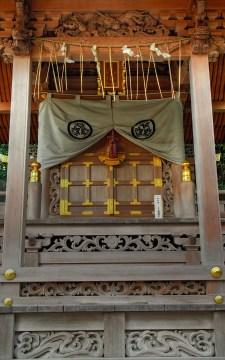 Wooden Temple Facade