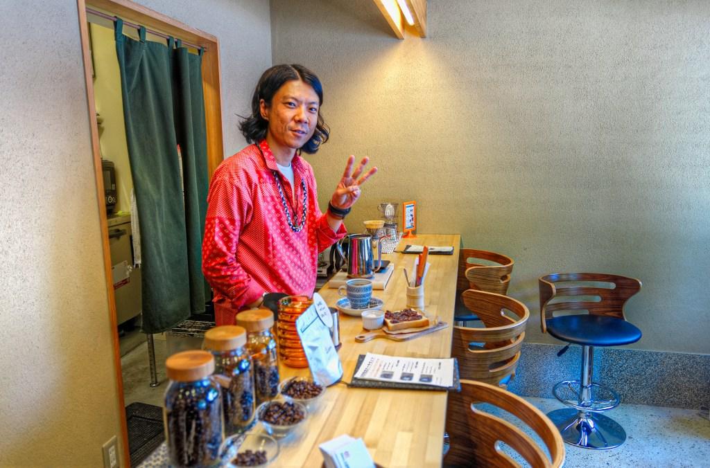 Kawa Coffee cafe interior
