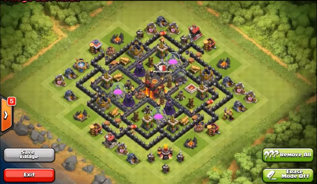 Top 10 Clash Of Clans Town Hall Level 8 Defense Base Design 2