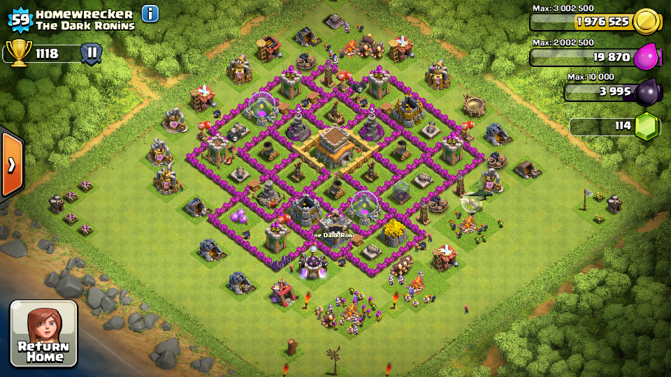 Top 10 Clash Of Clans Town Hall Level 8 Defense Base Design 4