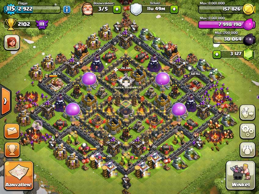 Best Clash Of Clans Town Hall Level 10 Defense Base Design 8