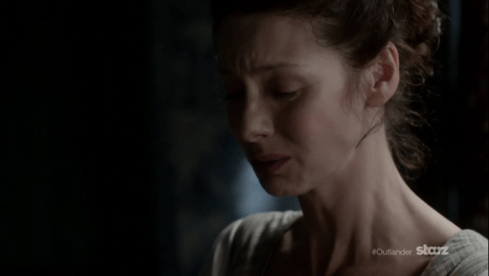 claire crying