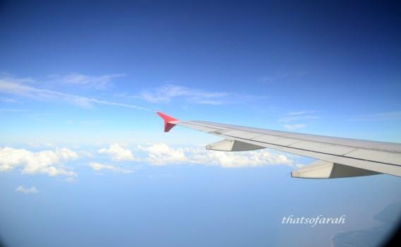 Flight to Palembang