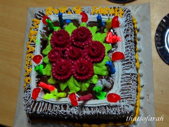 Bun's Birthday Cake