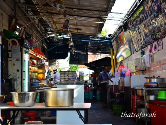 Mamak stall in Penang