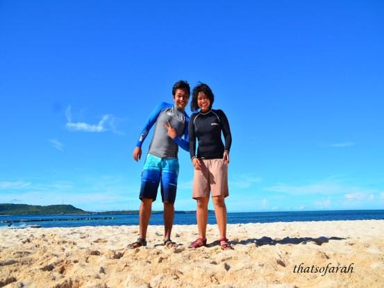Us at Pulau Liukang