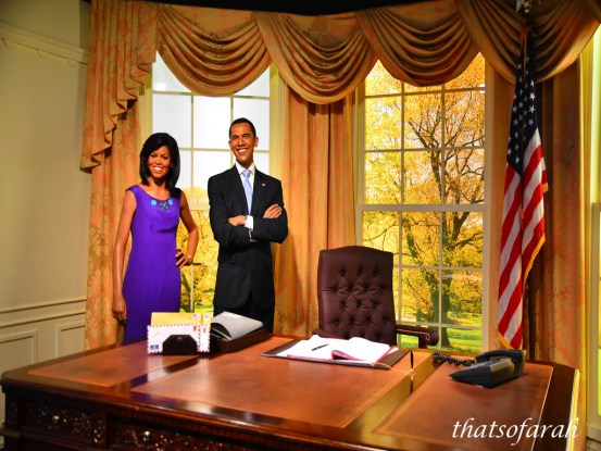 Obama at Madame Tussauds