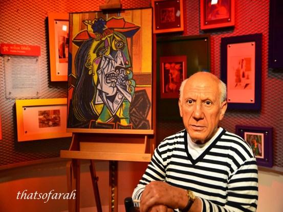Pablo Picasso Wax Figurine