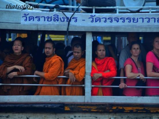 Ferry at Chao Phraya