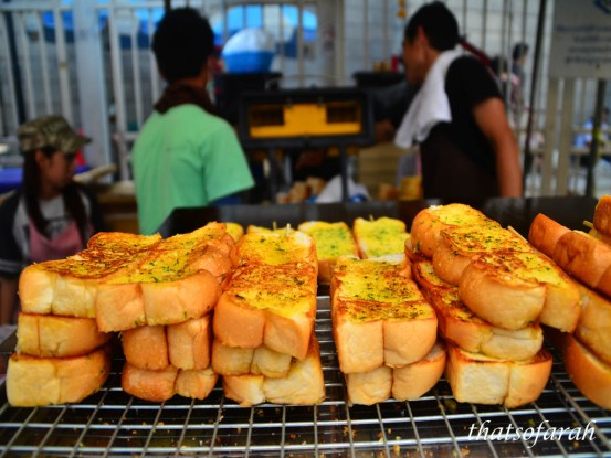Garlic Bread in Chatuchak