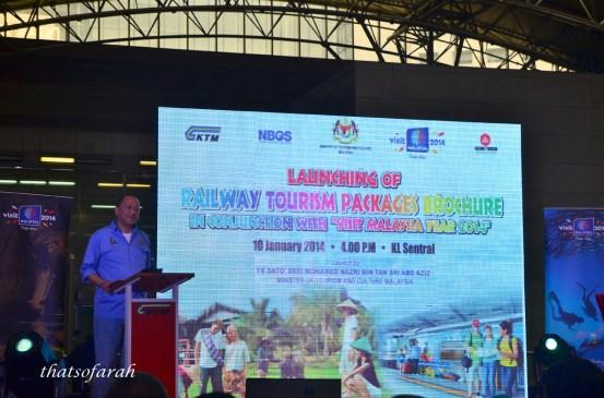 Railway Tourism Malaysia Launch