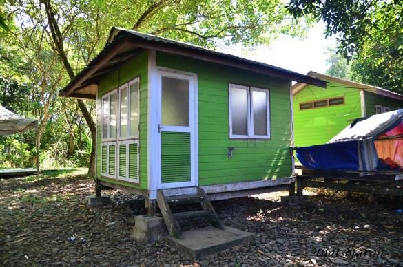 Accommodation in Pulau Satang besar