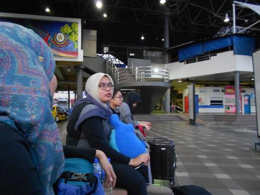 Arrival at Kuala Terengganu Bus Station