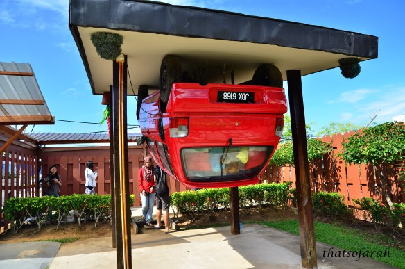Upside Down House of Borneo