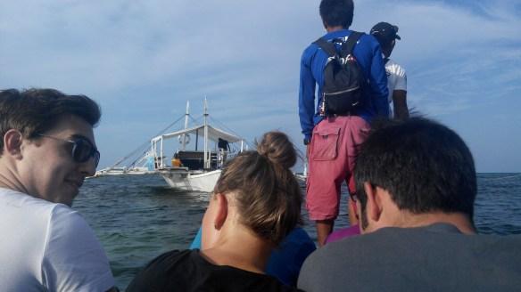 Small bangka to Malapascua