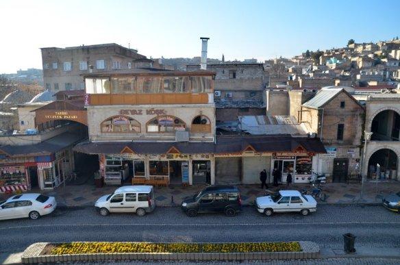 Edessa Hotel's window view