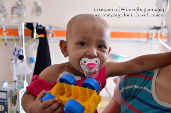 Kids with Cancer #travellingberuang