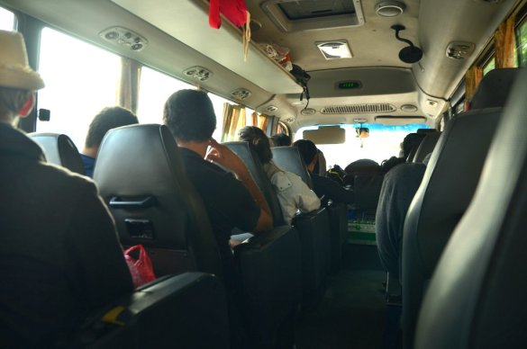 Coaster Van to Ha Long Bay