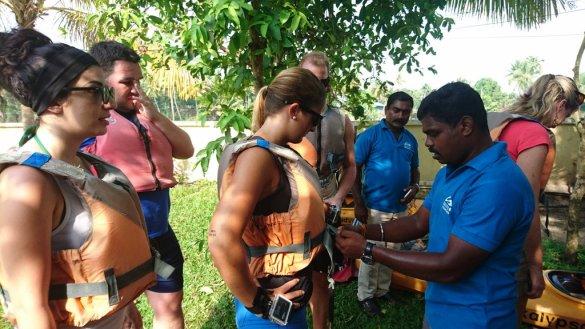 Kayaking through backwaters with kalypso adventures