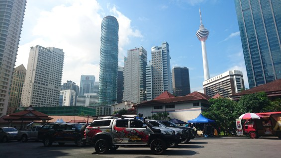 Caravan and Camping in the City