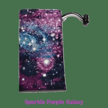 Drawstring Bag Sparkle Purple Galaxy