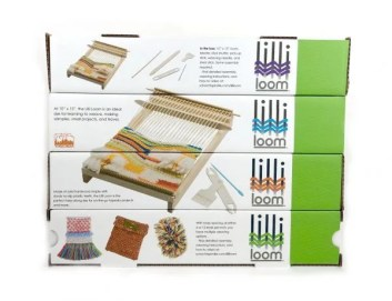 Stacked Lilli Loom Boxes