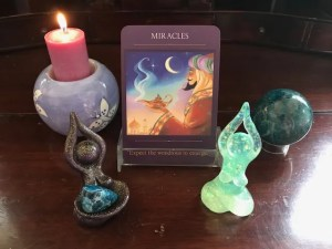 oracle card reading layout