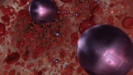 Respirocyte (an artificial red blood cell)