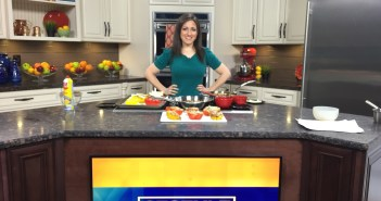 Quinoa Stuffed Peppers *As Seen on CT Style News 8*