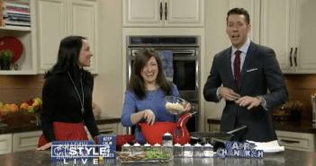 Cauliflower Latkes *As Seen on CT Style News 8*