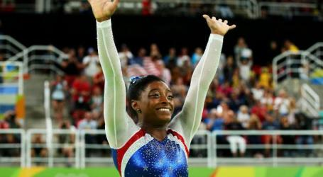 Simone Biles Wins Individual All-Around Gold Medal For Team USA At The 2016 Olympic Games