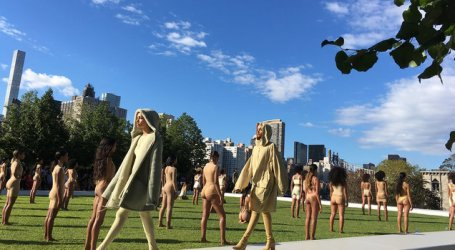 Kanye West's Yeezy 4 Fashion Show: Hot Mess Or Performance Art?