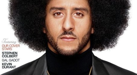Colin Kaepernick Named 2017 Citizen of the Year by GQ; Featured on Cover