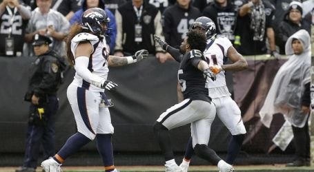MICHEAL CRABTREE AND AQIB TALIB GO STRAIGHT FIGHT CLUB ON THE FOOTBALL FIELD