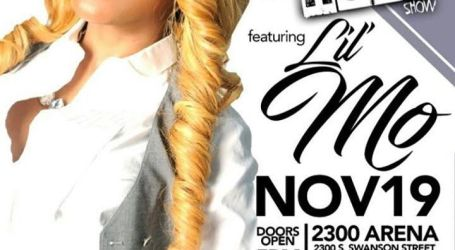 R&B Singer Lil Mo host this year's Sonny The Host Show