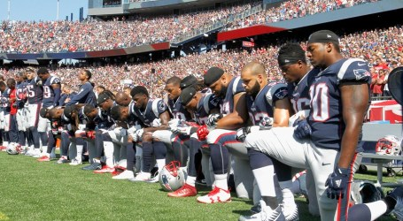 Players debate NFL's proposed $100 million donation