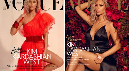 Kim Kardashian sparks backlash over Vogue India cover