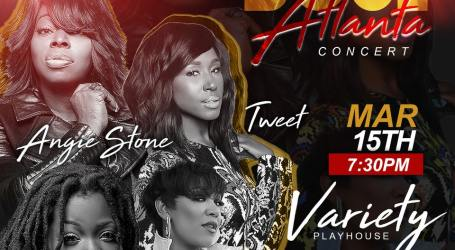 Tweet Hits Atlanta for 'Sisters of Soul' At Variety Playhouse