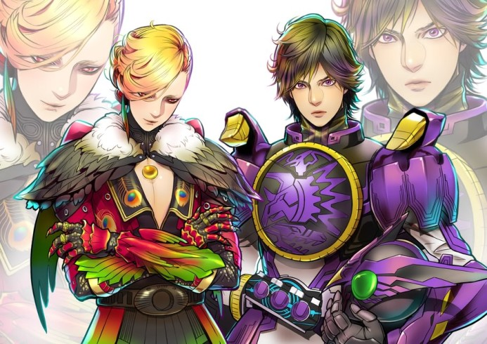 Ankh and Eiji being fabulous