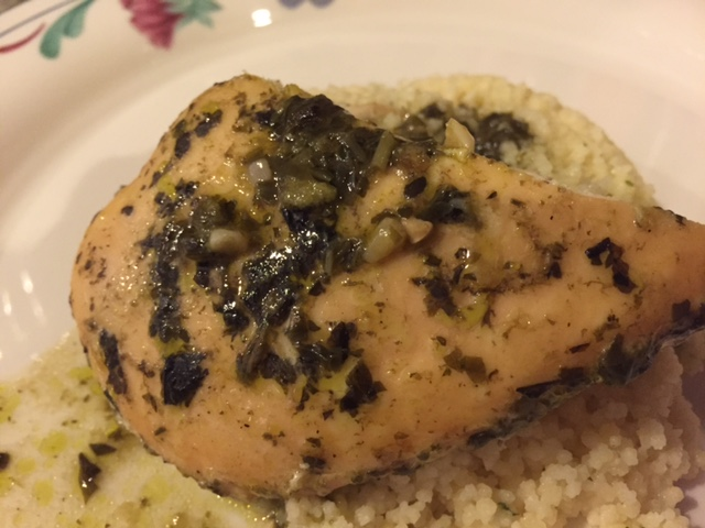 Slow Cooker Pesto Chicken