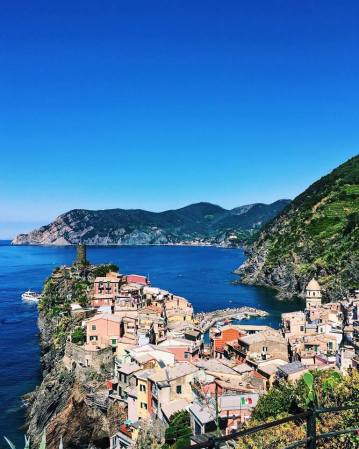 Stunning views from Cinque Terre
