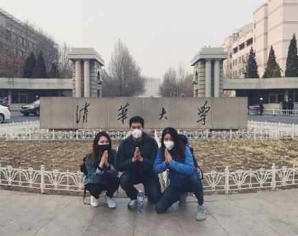 Rap squatting in Tsinghua