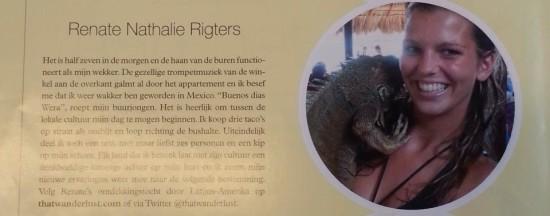 Wellness Magazine, Travel Edition / January 2014