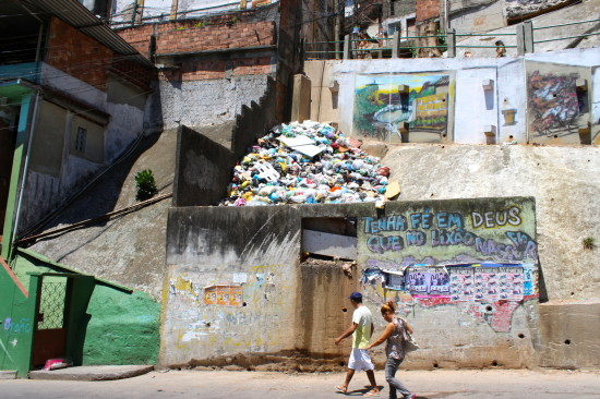 Inside the Rocinha favela