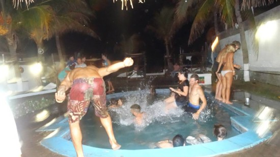 leon_bigfoot_party_beach-great party hostels in central america-thatwanderlust-travel