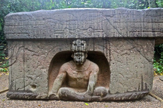 The Triumphal Altar of the Olmec culture