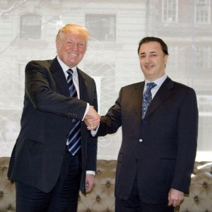 Lev Leviev and Donald Trump