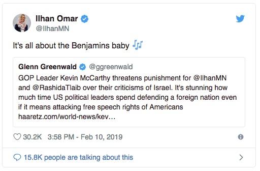 Ilhan Omar 2019-02-11 Tweet 1