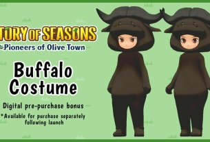 Pre-Order Story Of Seasons: Pioneers Of Olive Town And Get A Buffalo Costume 1