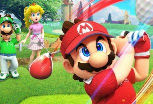 Take A Look The Stunning Nintendo Switch Box Art For Mario Golf: Super Rush 4